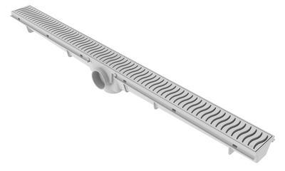 Ralo Lineal 70cm - Rejilla Blanca