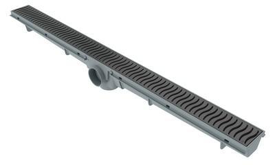 Ralo Lineal 70cm - Rejilla Gris
