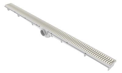 Ralo Lineal 90cm - Rejilla Beige