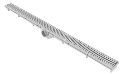 Ralo Lineal 90cm - Rejilla Blanca