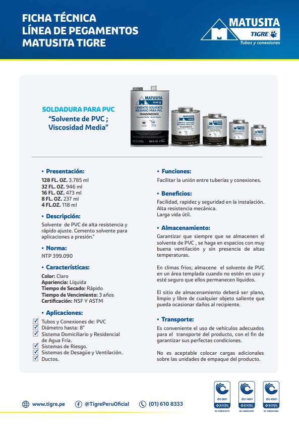Catálogo PP Roscado