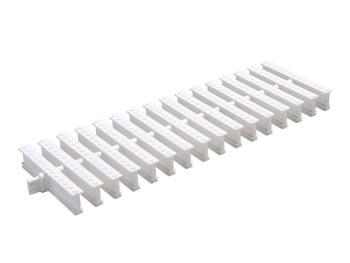 Rejilla Articulada p/ Canalón de Piso DN 130 0,5m ? P Color: blanco