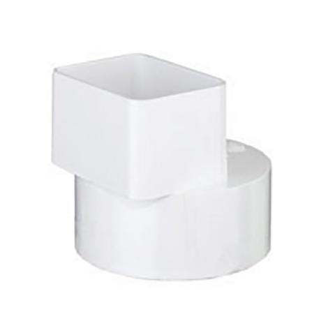 FLUSH DOWNSPOUT ADAPTER X H